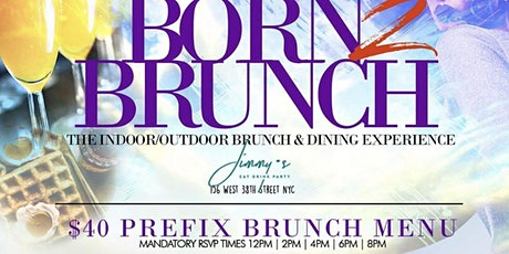 The Best Sunday Brunch in NYC is BACK!! tickets