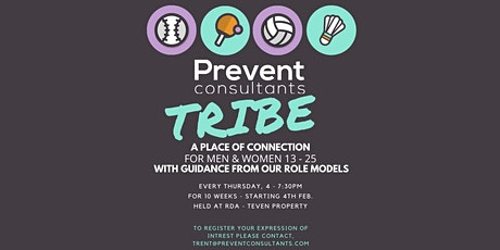 Prevent Consultants presents TRIBE a place of connection tickets
