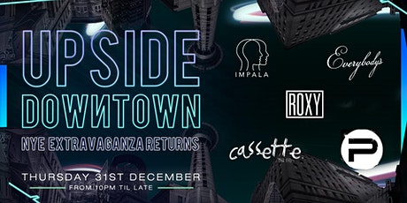 Upside Downtown - New Years Eve 20/21 tickets