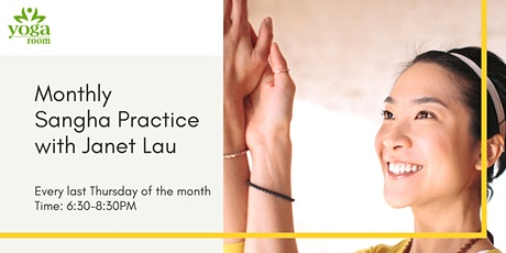 Monthly Sangha Practice with Janet Lau tickets