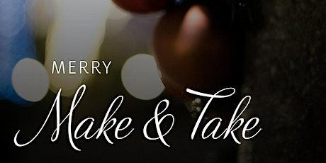 Merry Make & Take - Festive Succulent Terrarium tickets