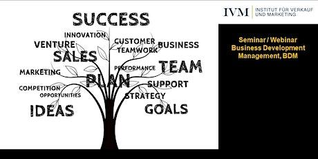 Seminar Business Development Management, 2-tägiges Präsenzseminar tickets