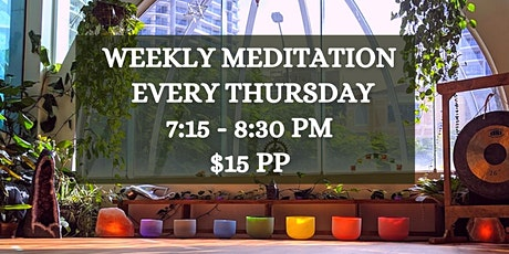 Weekly Meditation At Chameleon tickets