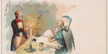 Seasonal Acrostic History  Happy New Year tickets