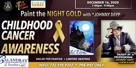 Paint the Night Gold with *Johnny Depp tickets