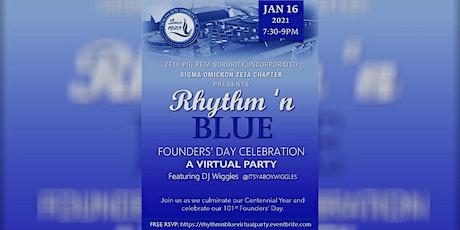 Rhythm 'n Blue Founders' Day Celebration - A Virtual Party Ft. DJ Wiggles tickets