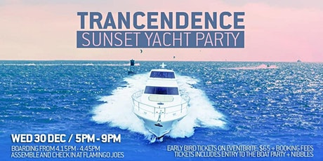 Trancendence: Sunset Yacht Party: 30th Dec tickets