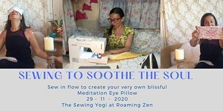 Sewing to soothe the soul at Roaming Zen tickets