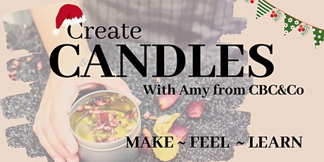 Candle Making Workshop- Xmas themed! tickets