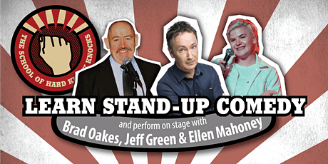 Learn stand-up comedy in Melbourne this January with Jeff Green tickets