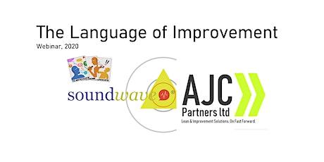 The Language of Improvement - a SoundWave webinar tickets