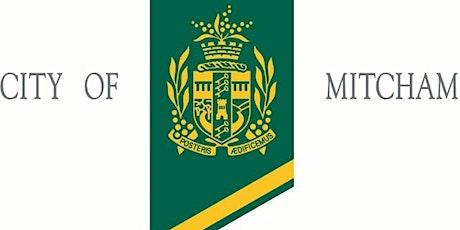 City of Mitcham Citizenship Ceremony Mon 30 November, 2020 Third Sitting tickets
