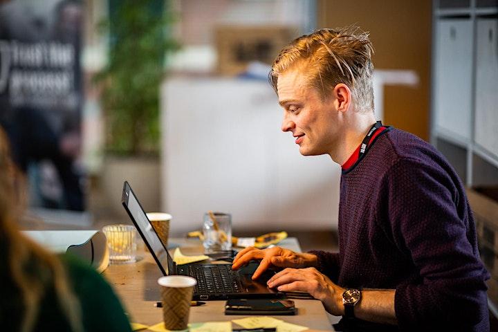 Free webinar on Facilitating Remote Design Sprints image
