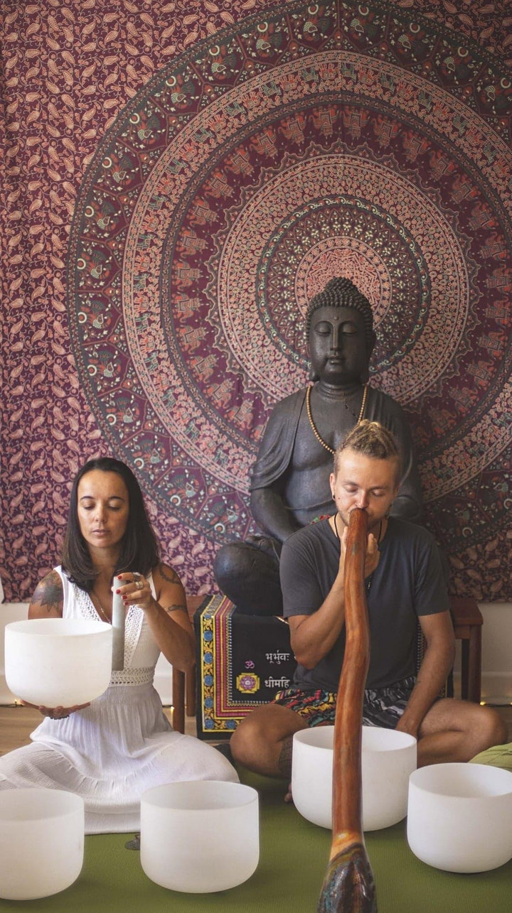 Weekly Meditation and Sound Healing At Chameleon image