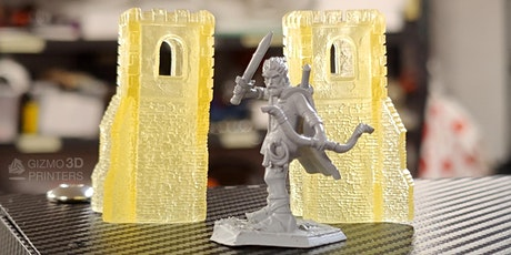 Resin 3D Printing for Beginners tickets
