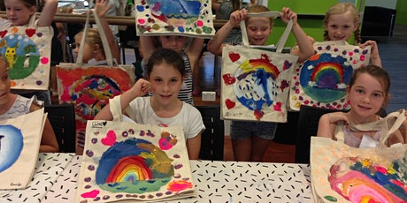 THE CHROMA KIDS FABRIC PAINTING HOLIDAY WORKSHOP tickets
