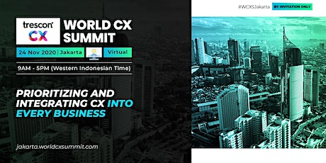 World CX Summit - Jakarta tickets