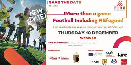More than a game, football including refugees tickets
