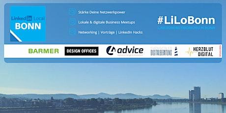 LinkedIn Local Bonn - #LiLoBonn Meetup Vol. 7 Tickets