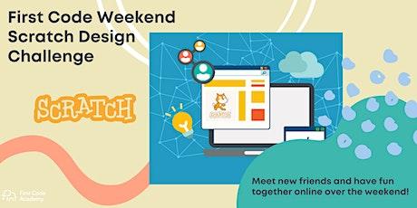Scratch Design Challenge tickets