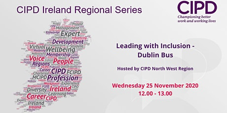 CIPD Regional Series - Leading with Inclusion - Dublin Bus tickets