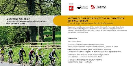 Lauretana ciclabile Le opportunità economiche del cicloturismo biglietti