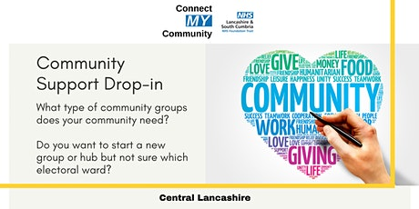 Community Support Drop-in tickets