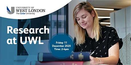 Research at UWL-2020 onwards tickets