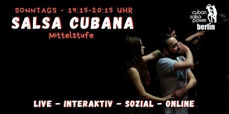 Salsa Cubana - Mittelstufe Paartanz - Online Kurs Tickets