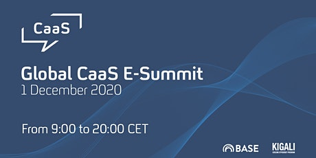 Cooling as a Service (CaaS) Global E-Summit tickets