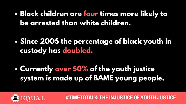 It's #TimeToTalk: The Injustice of Youth Justice | A Panel Discussion. image