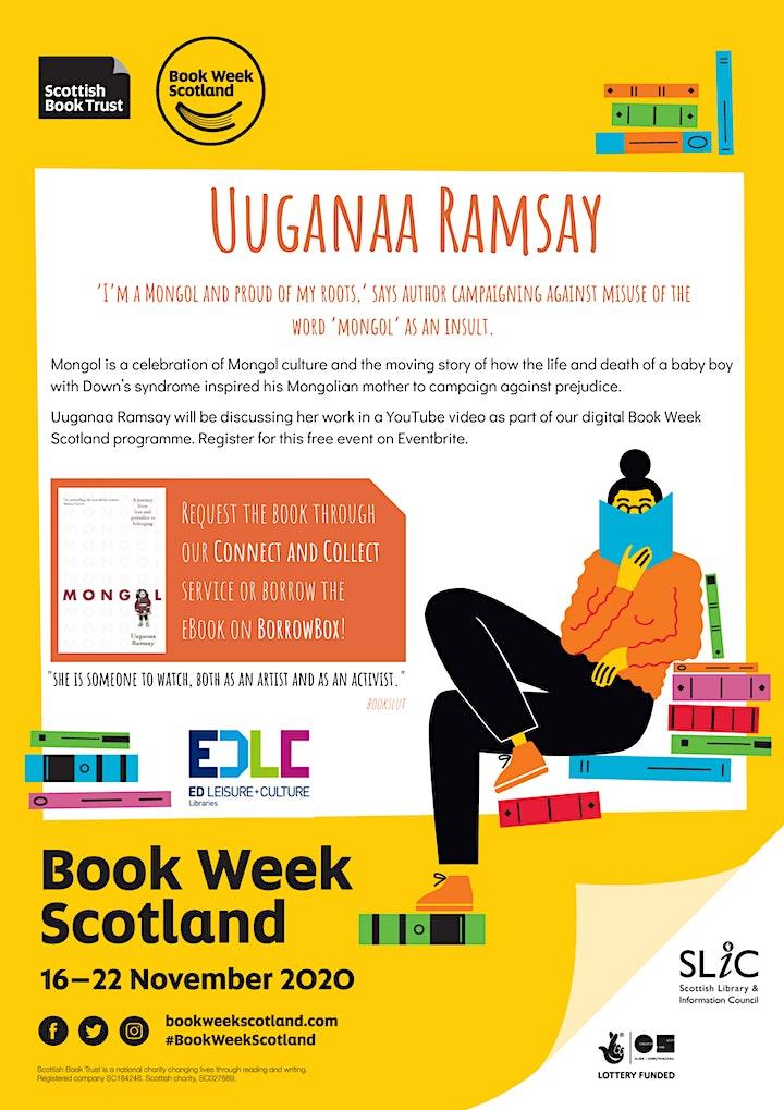 Book Week Scotland: Uuganaa Ramsay image