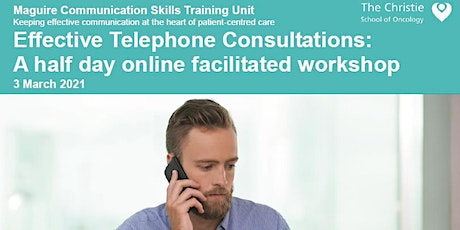 Effective Telephone Consultations - March 2021 tickets