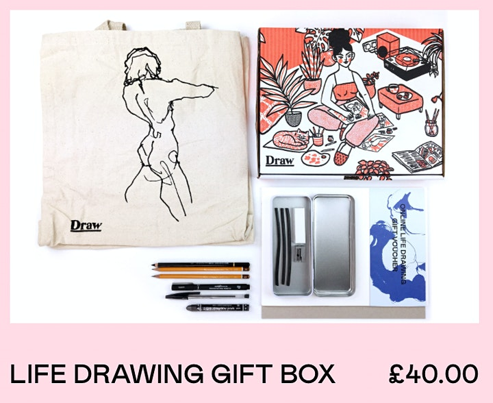 Online Life Drawing  with Bella & Draw Brighton image