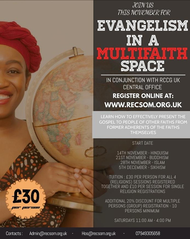 EVANGELISM IN A MULTIFAITH SPACE image