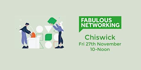 Fabulous Networking Chiswick tickets