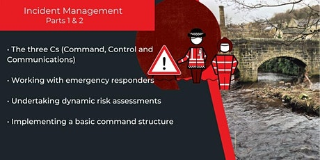 Communities Prepared Lowestoft: Incident Management Parts 1 & 2 tickets