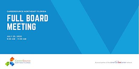 CareerSource NEFL Full Board Meeting tickets