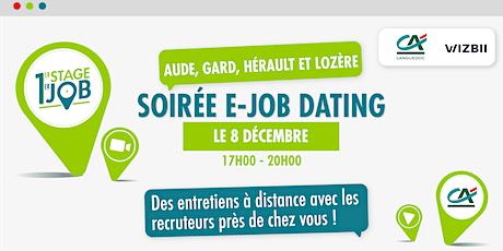 E-Job Dating Languedoc : décrochez un emploi dans votre région ! billets