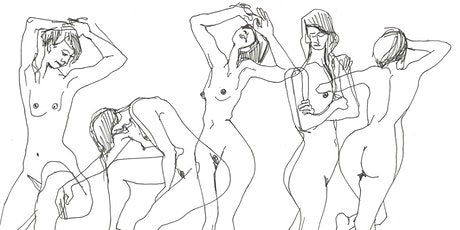 Online Life Drawing  with Bella & Draw Brighton tickets