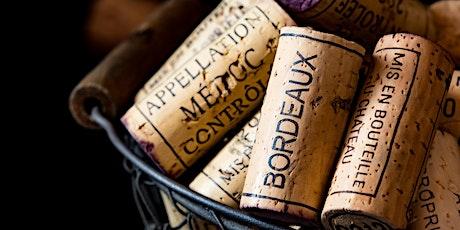 Bordeaux Wine Tasting & Class tickets