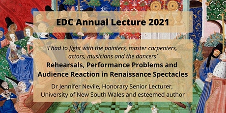 EDC Annual  Lecture 2021 tickets