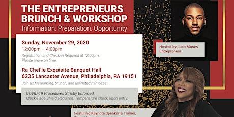 Entrepreneur Business workshop Brunch tickets