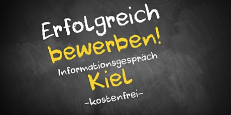 Bewerbungscoaching Online kostenfrei - Infos - AVGS  Kiel Tickets