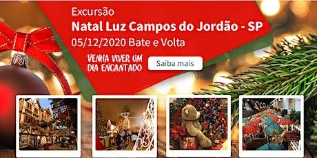 Viagem Campos do Jordão Natal 05/12/2020 ingressos
