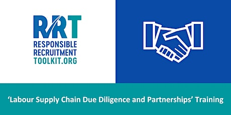 Labour Supply Chain Due Diligence and Partnerships  | 20/04/2021 tickets