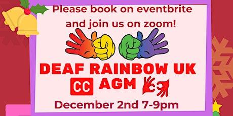 Deaf Rainbow UK AGM and Xmas Entertainment tickets
