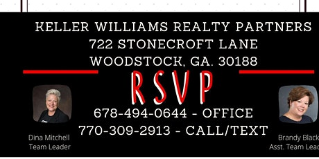 Keller Williams Career seminar  12:00 - 1:00 PM tickets