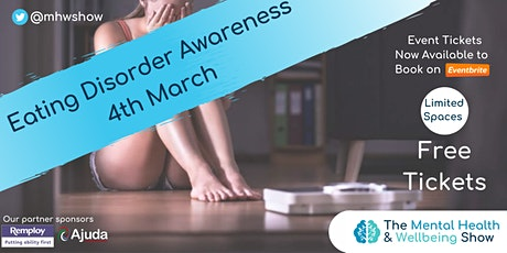 Mental Health Online: Eating Disorder Awareness tickets
