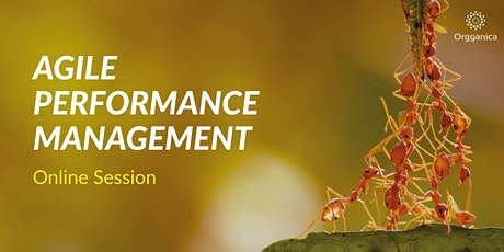 Agile Performance Management Online Session tickets